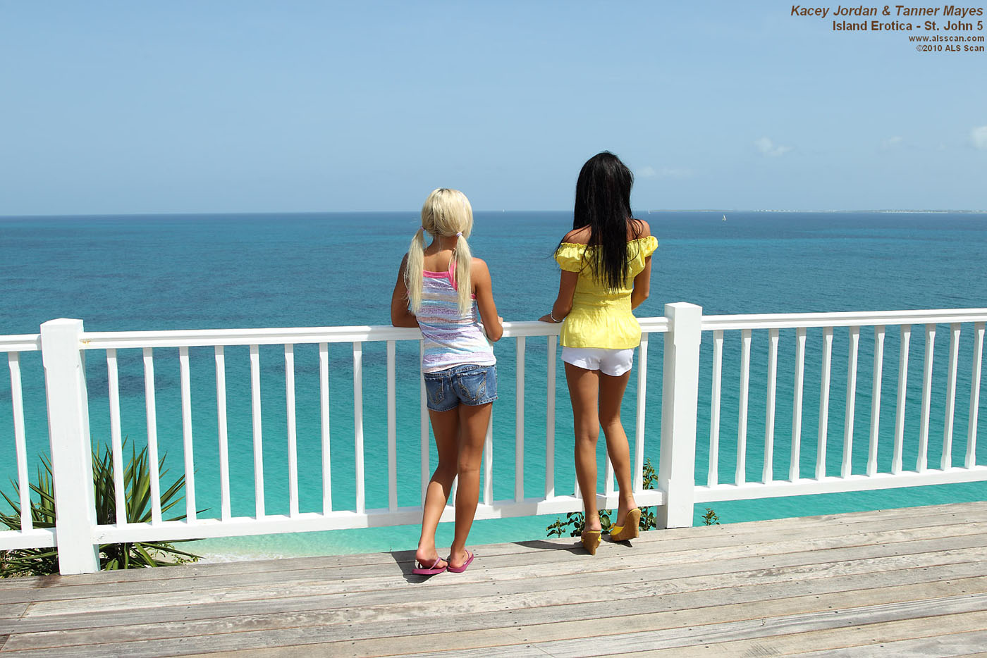 Island Erotica - Lesbian Love in the Caribbean with Tanner Mayes and Kacey Jordan