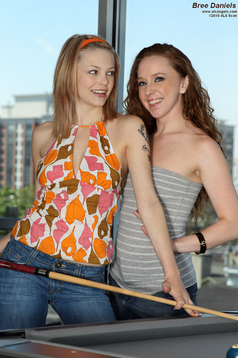 Bree Daniels - Bree Daniels & Leighlani Strap